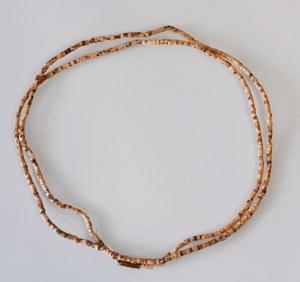 Кантхималы (бусы) из Туласи. 2 ряда. 3 мм