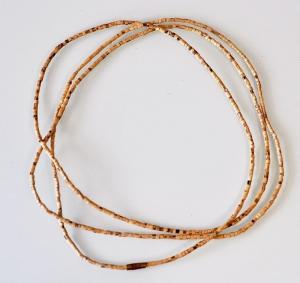 Кантхималы (бусы) из Туласи. 3 ряда. 3 мм