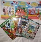 """Комплект журналов для детей """"Шалун Бихари"""" и """"Джай гопал"""" (7 номеров)"""