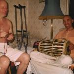 Ананта-шанти и Мурали Мохан. 2004. Москва