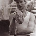 Харинама в Петергофе 1989. Виден каскад фонтанов