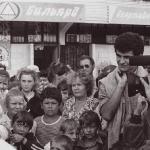 На набережной в Сочи, харинамы в июне 1989