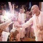 Гурудас получает санньясу от Прабхупады