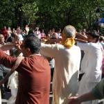 Ратха-ятра в Нью-Йорке (14 июня 2014)