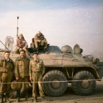 002 Уже в Чечне. Кришнаиты на броневике
