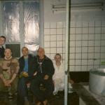 018 Команда преданных-волонтёров в столовой в Чечне