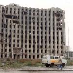 Кришнаитский автобус в Чечне
