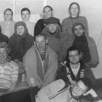 Групповое фото с актерами после спектакля в г.Грозном