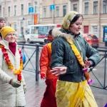 032 Субботняя харинама в СПб (2013.11.03)