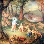 Калия отравил реку Ямуна (Дхрити д.д.)