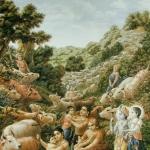 Мальчики-пастушки и Кришна