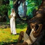 Bhima and demoness Hidimbi 1
