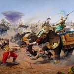 Бхима в битве