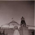Шрила Прабхупада на Красной Площади в1971 году