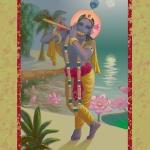 Играющий Бог (худ. Чайтанья Чандра Чаран дас)