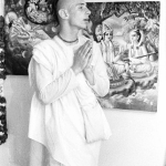 10 Вишнуждана Свами в храме Бостона