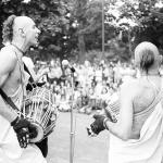 1970. Программа в Кембридж Коммонс парке Бостона