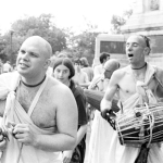 31 Брахмананда Махарадж и Вишнуджана Махарадж