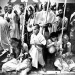 1973. Вишнуджана Свами в Новом Вриндаване