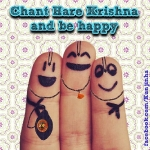 Chant Hare Krishna and be Happy