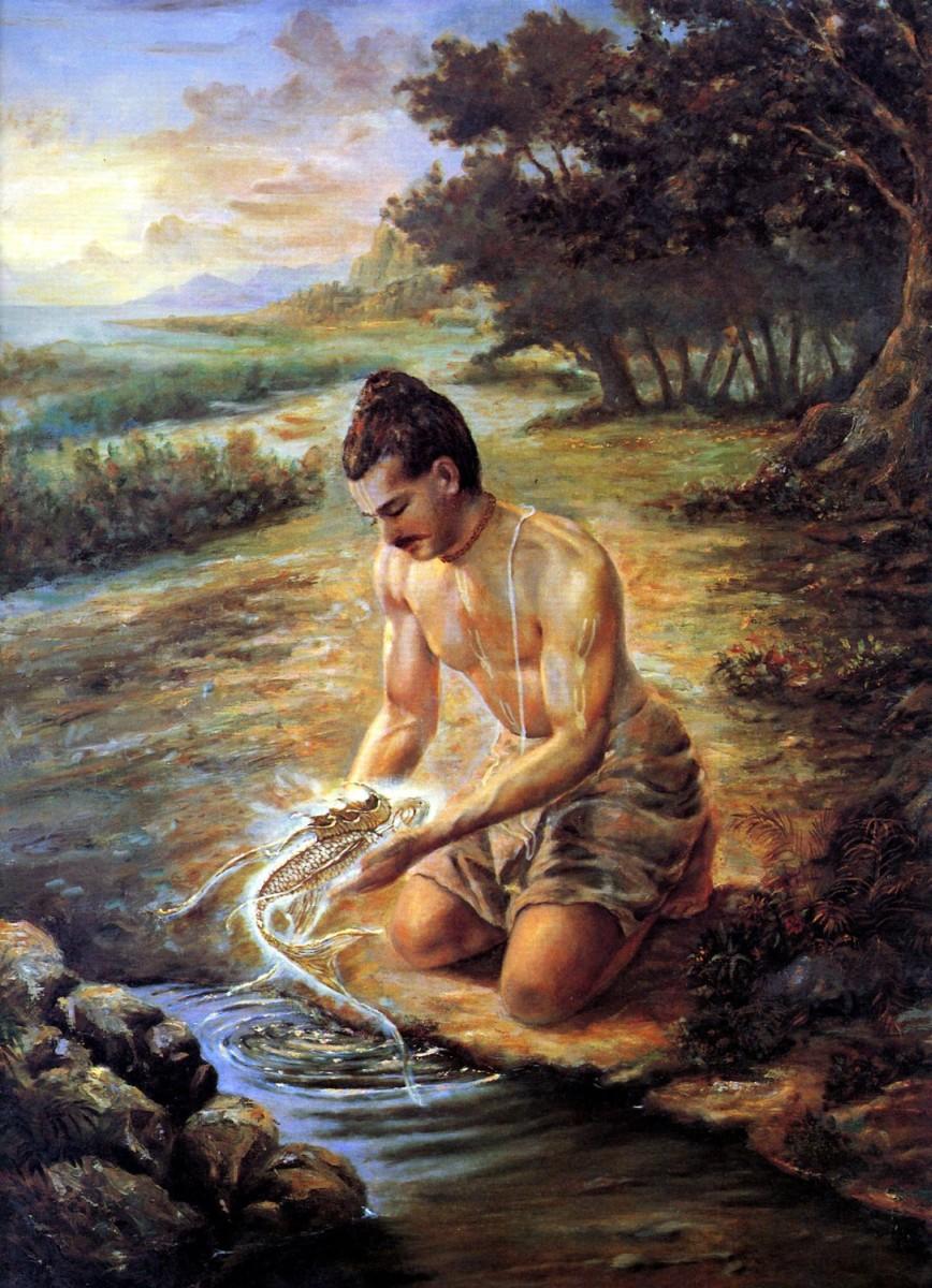 Глава 24. Матсья, воплощение Господа в образе рыбы
