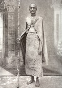 Бхактисиддханта Сарасвати после принятия санньясы