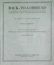 Back To Godhead Volume-01 Number-01&04, 1944